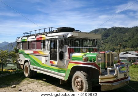 Traditional Philippine Jeepney