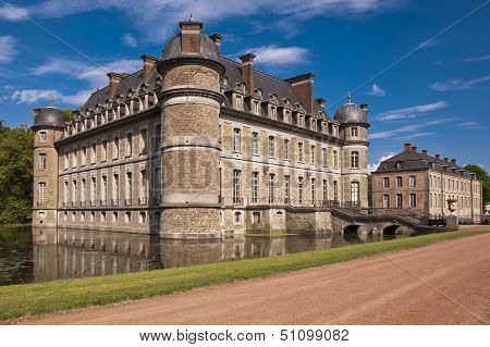 Beloeil Castle In Belgium