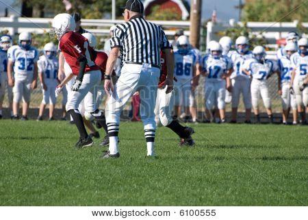 Oregon high school football players.