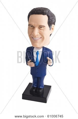 Businessman Bobble Head Toy