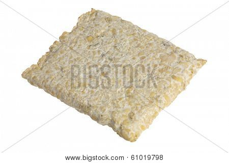 Asian protein product on white background