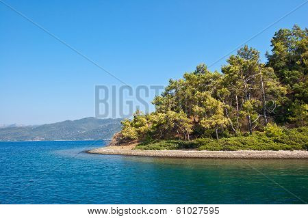 The Island In The Aegean Sea