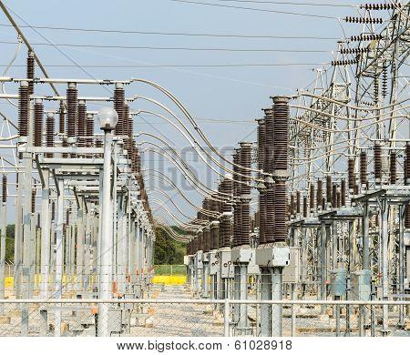 Electric Distribution Substation