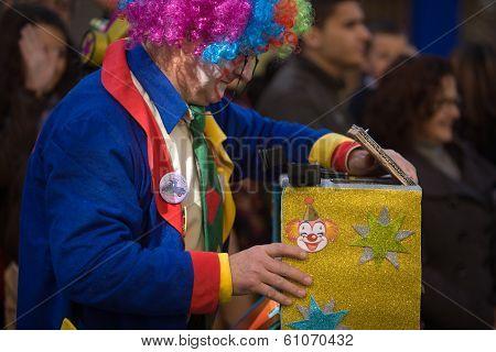 Clown Camera Man