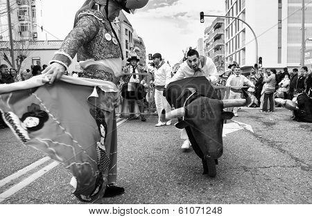 Bull Over Wheels