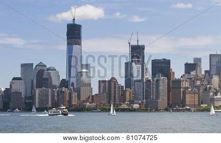 Manhatten in New York