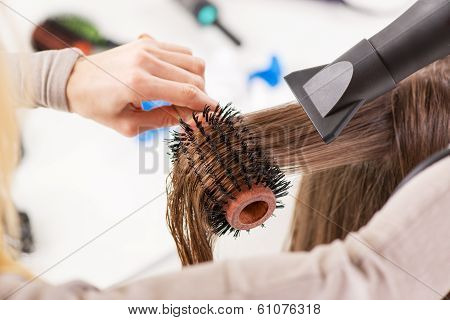 At The Hairdresser's
