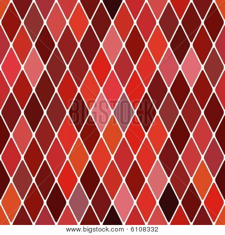 Harlequin autumnal background. Color bright red decorative vector illustration. poster
