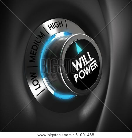 Will Power Volition Concept