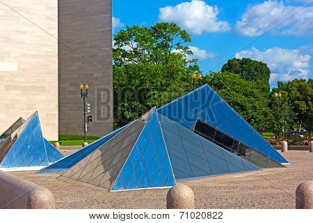 Glass Pyramids at National Gallery of Art