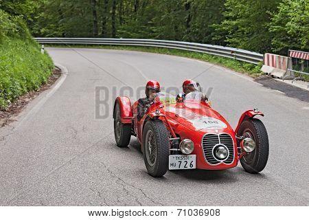 Maserati A6 Gcs (1948) Runs In Mille Miglia 2013