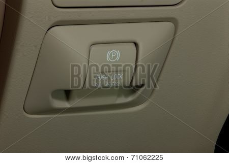 electric parkbrake button