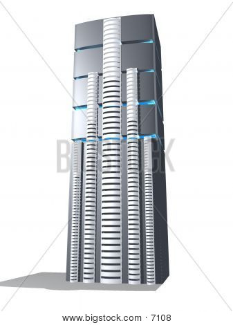 3d Server Grey