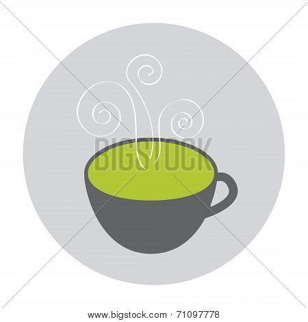 Hot Green Tea icon