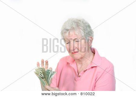 contando el dinero