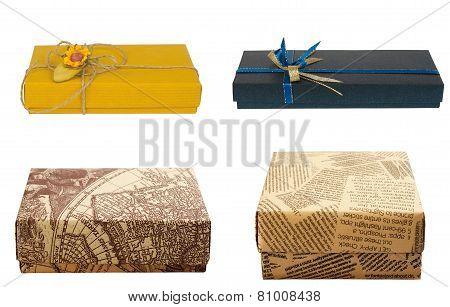Gift Box. Set.