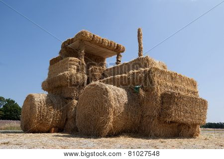 Straw Tractor