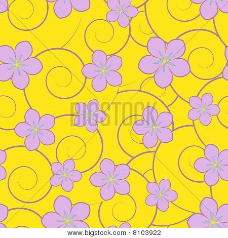 Swirls And Flowers