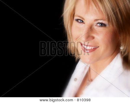 Attractive Blond Model