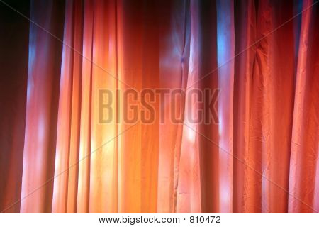 Colored Stage Curtains