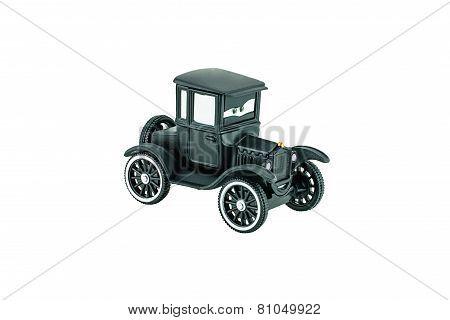 Lizzie Vintage Car A Main Protagonist Of The Disney Pixar Feature Film Cars.