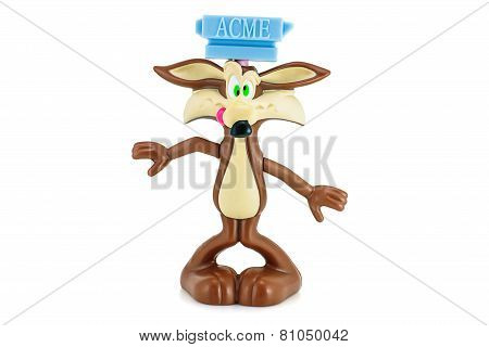 Wile E. Coyote Figure Toy Character Form Looney Tunes And Merrie Melodies Series Of American Animate