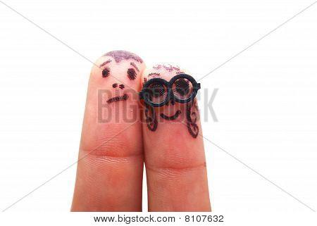 Finger Face