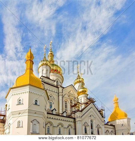 One Of The Temples Of Pochayiv Lavra