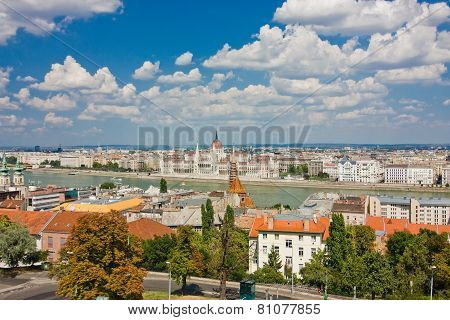 View Of Buda And Pest