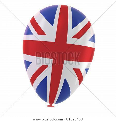 British Flag Balloon