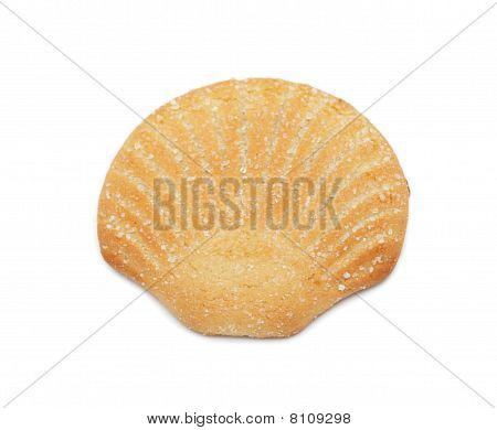 Cookie 'cockle', Isolated