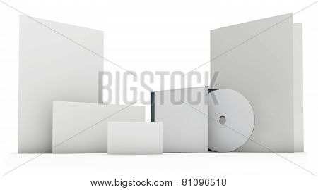 Stationery Set Blank Template