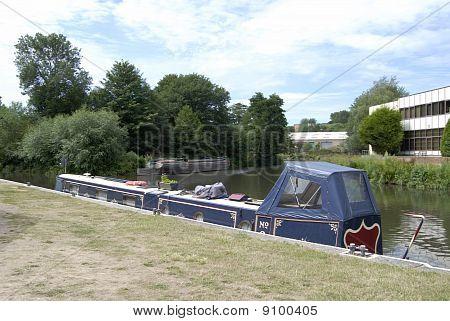 Wey Navigation. Guildford. Surrey.