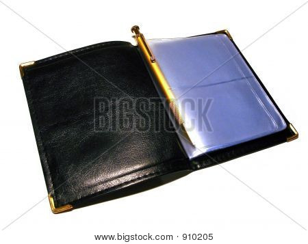 Notebook For Another`S Visitcards