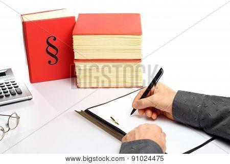 Writing On Document