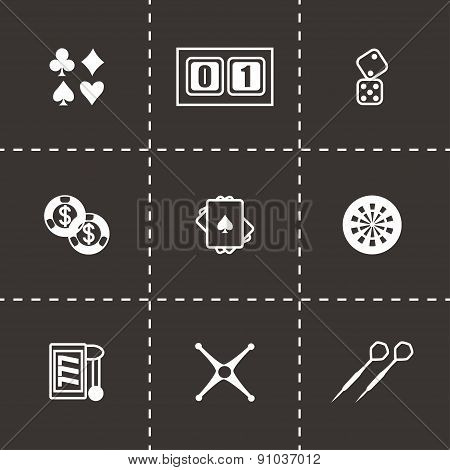 Vector Casino icon set