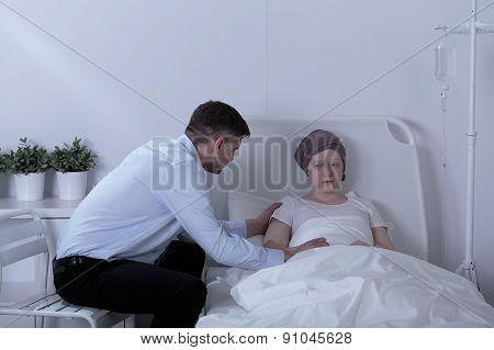 Girl With Leukemia