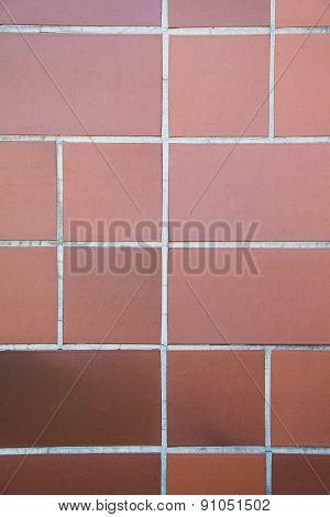 Orange Tile Patern