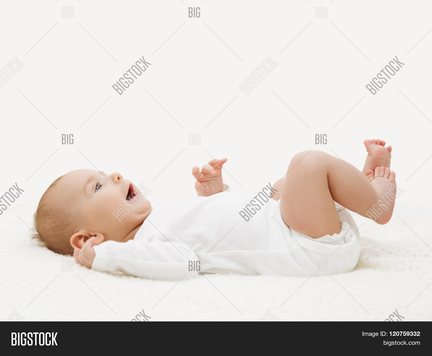 174cf7fcb70d Baby White Onesie Image   Photo (Free Trial)