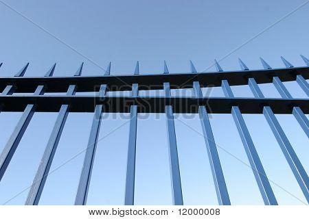 Railings, Blue