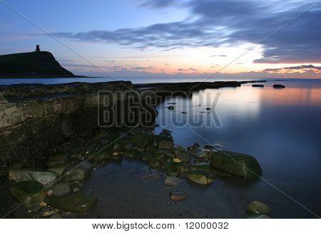 Dusk at Kimmeridge Bay, Dorset