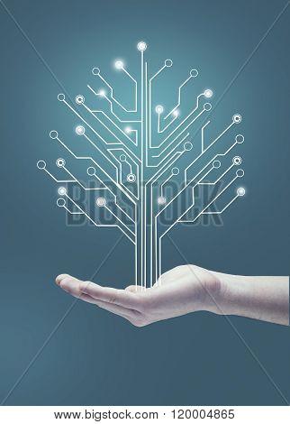 Circuit Board Tree