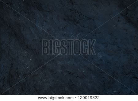 Black natural slate stone texture or background.