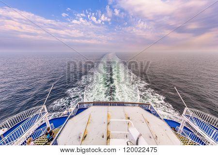 Backside Stern Ferry