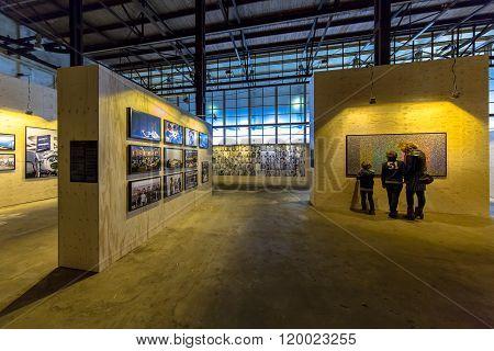 Visitors At Photo Exhibition Noorderlicht