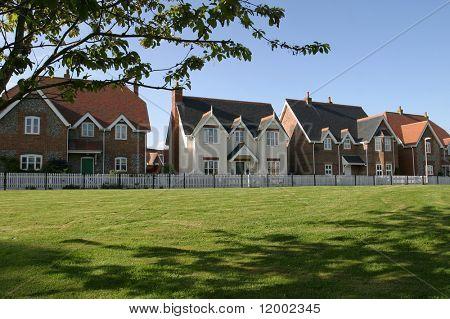 Häuser am Dorfplatz