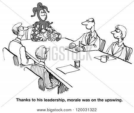 Morale on the Upswing