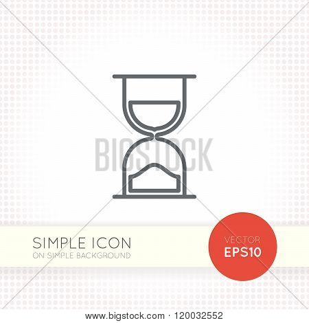 Thin line design vector universal icon. Elements for user interface.