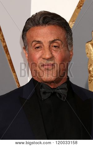 LOS ANGELES - FEB 28:  Sylvester Stallone at the 88th Annual Academy Awards - Arrivals at the Dolby Theater on February 28, 2016 in Los Angeles, CA