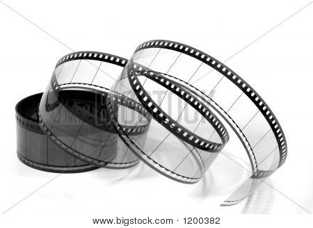 Twisted Movie Film 1 (Black And White)